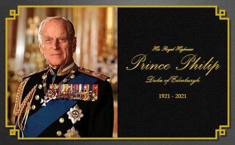 Death of HRH the Duke of Edinburgh, Lamesley Parish Council